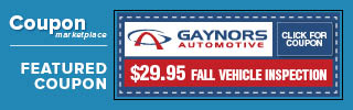 Gaynors Automotive Coupon