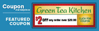 Green Tea Kitchen Coupon
